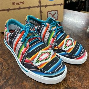 NEW Twisted X Serape Hooey Shoes Sneakers Lace Up